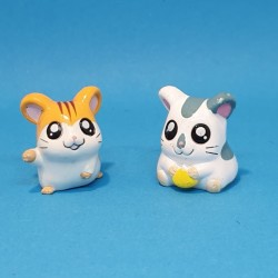 Hamtaro et Oxnard second hand figures