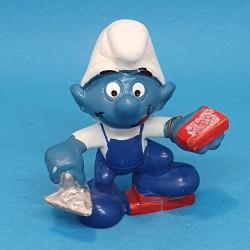The Smurfs Smurf Mason second hand Figure.