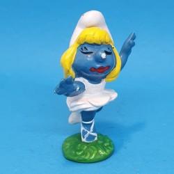 The Smurfs Smurfette dancer second hand Figure.