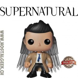 Funko Pop Telvision Supernatural Castiel (Winged) Exclusive Vinyl Figure