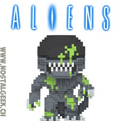 Funko Pop Movie Alien 8-bit Alien Xenomorph (Bloody) Exclusive Vinyl Figure
