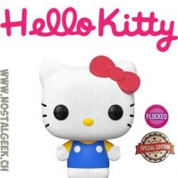 Funko Pop Sanrio Hello Kitty (Classic) Flocked Edition Limitée