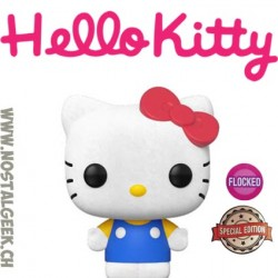 Funko Pop Sanrio Hello Kitty (Classic) Flocked Exclusive Vinyl Figure