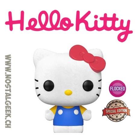 Funko Pop Sanrio Hello Kitty (Classic) Flocked Exclusive Vinyl Figure