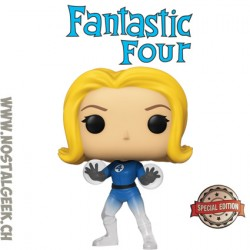 Funko Pop Marvel Fantastic Four Invisible Girl (Translucent) Exclusive Vinyl Figure