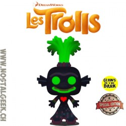 Funko Pop Movies Trolls King Trollex Phosphorescent Edition Limitée