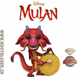 Funko Pop Disney Mulan Mushu (Diamond Glitter) Edition Limitée