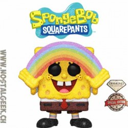 Funko Pop Animation Spongebob Squarepants (Diamond Glitter) Exclusive Vinyl Figure