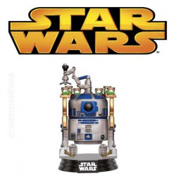 Funko Pop! Star Wars R2-D2 Jabba's Skiff Edition Limitée