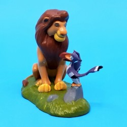 Disney Roi Lion Simba et Zazou Figurine d'occasion (Loose)