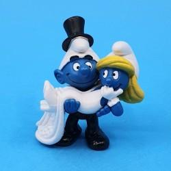 Schtroumpfs Couple marié Figurine d'occasion (Loose)