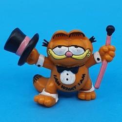 Garfield avec canne et gibus Figurine d'occasion (Loose)