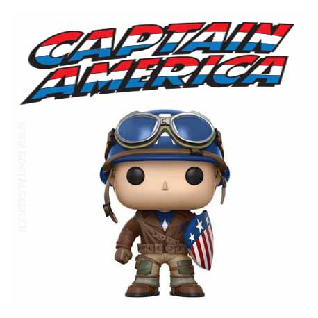Funko Pop ECCC 2017 Marvel WW2 Captain America Exclusive