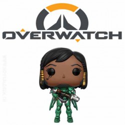 Funko Pop! ECCC 2017 Overwatch Emerald Pharah Exclusive