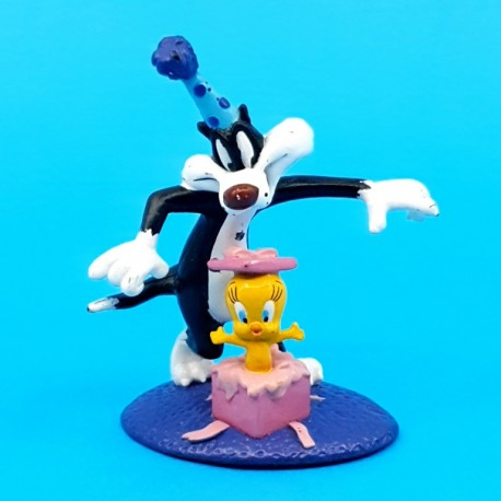 Looney Tunes Tweety & Sylvester Birthday second hand figure (Loose)