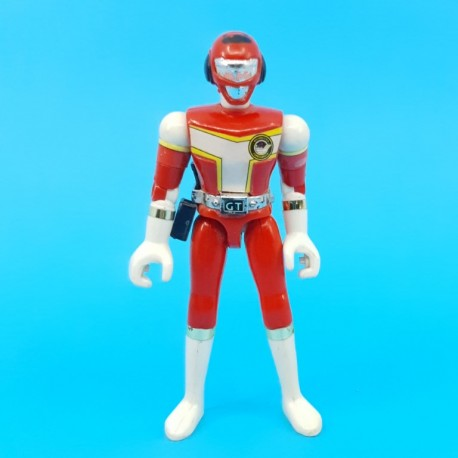 Power Rangers Red Turbo Ranger second hand action figure (Loose)