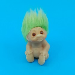 Troll 8 cm green hair second hand figure (Loose)