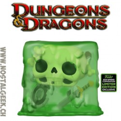 Funko Pop ECCC 2020 Dungeons & Dragons Gelatinous Cube Edition Limitée