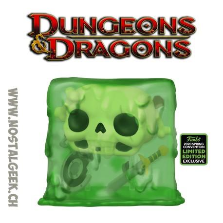 Funko Pop ECCC 2020 Dungeons & Dragons Gelatinous Cube Exclusive Vinyl Figure