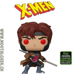 Funko Pop ECCC 2020 X-men Gambit Exclusive Vinyl Figure