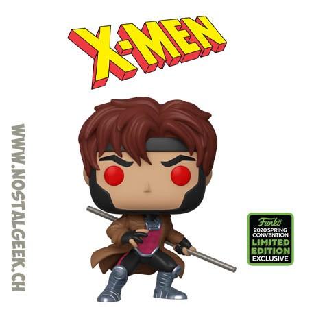 Funko Pop ECCC 2020 X-men Gambit Exclusive Vinyl Figure