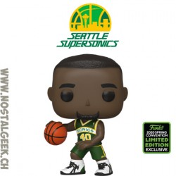 Funko Pop Basketball ECCC 2020 Seattle Supersonics Shawn Kemp Exclusive Vinyl Figure