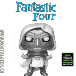 Funko Pop Marvel ECCC 2020 Fantastic Four Doctor Doom Edition Limitée