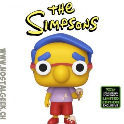 Funko Pop ECCC 2020 The Simpsons Milhouse Exclusive Vinyl Figure