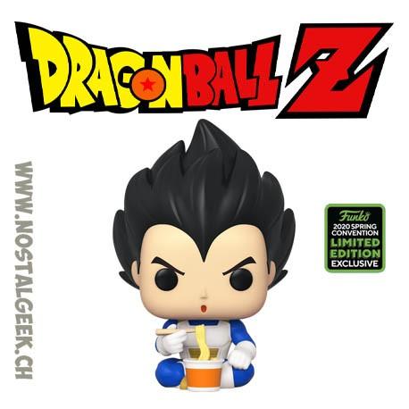 Funko Pop ECCC 2020 Dragon Ball Z Vegeta (Eating Noodles) Exclusive Vinyl Figure