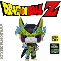 Funko Pop ECCC 2020 Dragon Ball Perfect Cell GITD Exclusive Vinyl Figure