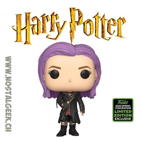 Funko Pop ECCC 2020 Harry Potter Nymphadora Tonks Exclusive Vinyl Figure