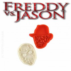 Details about Freddy vs Jason Cookie Cutters - Friday the 13th - Nightmare on Elm St.