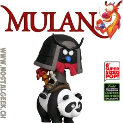 Funko Pop Disney ECCC 2020 Mulan Mushu Riding Panda Edition Limitée