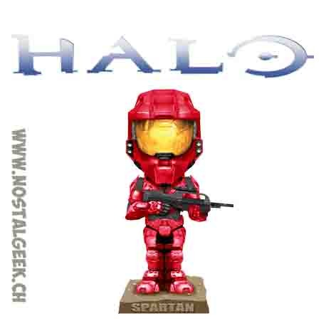 Funko Wacky Wobbler Halo 3 SDCC 2008 Red Spartan Soldier SDCC 2008 Bobble Head Exclusive Vinyl Figure