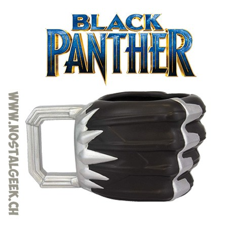 Marvel Black Panther Claw Shaped Ceramic shaped Mug