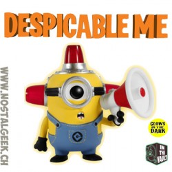 Funko Pop! Despicable Me Fire Alarm Minion Phosphorescent Edition Limitée Vaulted