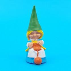 Les aventures de David le Gnome Susan tricote (robe bleue) Figurine d'occasion (Loose)