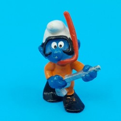 The Smurfs diver second hand Figure (Loose)