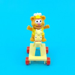 Muppets Babies Fozzie on horse second hand figure (Loose)