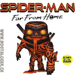 Funko Pop Marvel Spider-Man Far From Home Molten Phosphorescent Edition Limitée