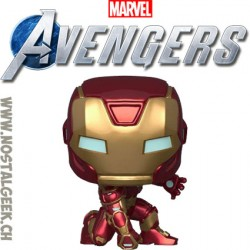 Funko Pop Games Marvel Iron Man (Avengers Game) Vinyl Figure