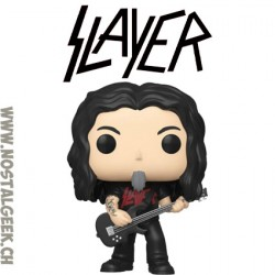 Funko Pop Rock Slayer Tom Araya Vinyl Figure