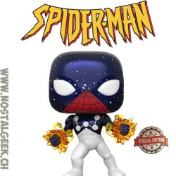 Funko Pop Marvel Spider-Man (Captain Universe) Exclusive Vinyl Figure