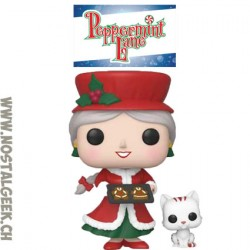 Funko Pop Christmas Peppermint Lane Mrs. Claus & Candy Cane Vinyl Figure