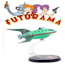 Futurama Planet Express Ship Model Q-Fig from QMX by QMX Mini Masters Vehicles Lootcrate Exclusive