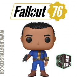 Funko Pop Games Fallout 76 Vault Dweller Vaulted