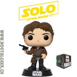 Funko Pop Star Wars Han Solo Movie Han Solo Vaulted Vinyl Figure