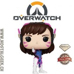 Funko Pop! Jeux Vidéos Games Overwatch D. VA (Diamond Glitter) Edition Limitée