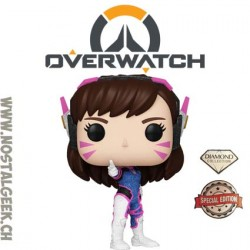 Funko Pop! Jeux Vidéos Games Overwatch D. VA (Diamond Glitter) Exclusive Vinyl Figure