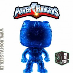 Funko Pop Movies Power Rangers Blue Ranger (Teleporting) Edition Limitée Vaulted